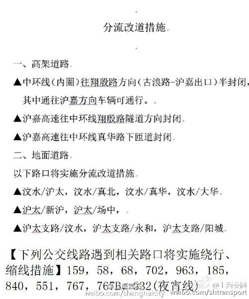 上海中环高架桥发生严重车祸部分路面损坏 交通封闭