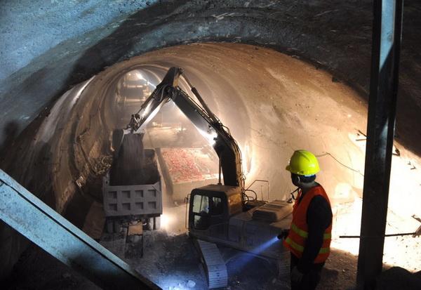 隧道施工用电电路图