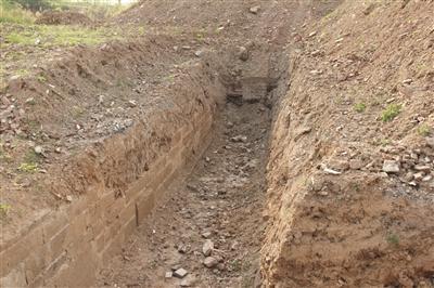 南京浦口600多岁明城墙 发现沧波门瓮城遗址