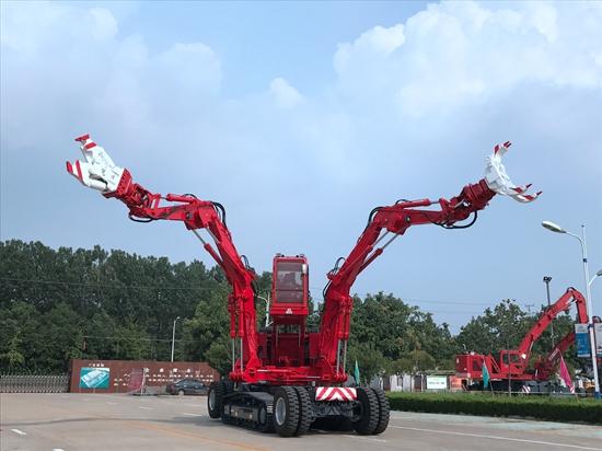 野狼前锋国内自主研发首台大型抢险救援机器人正式投入市场