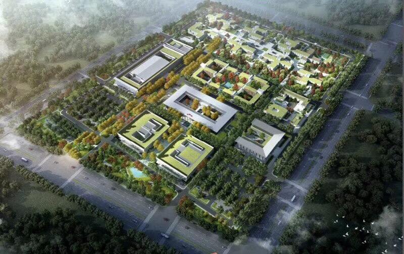 上海建工参与雄安新区建设 承接雄安第一标景