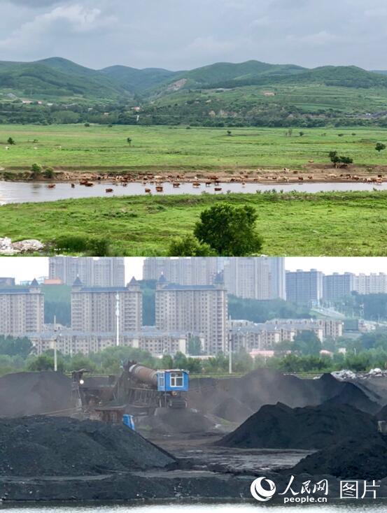 人民网暗访煤城鸡西、鹤岗:洗煤废水排放河流