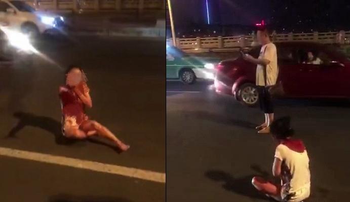 """多地传""""女子被抢劫割喉""""视频 事发地为四川乐山"""