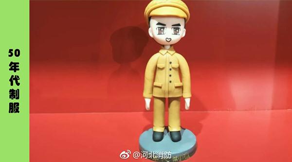 """""""消防公仔""""上演""""年代秀"""""""