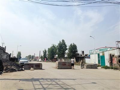 邢台沙河道路设限邯郸永年货车难行
