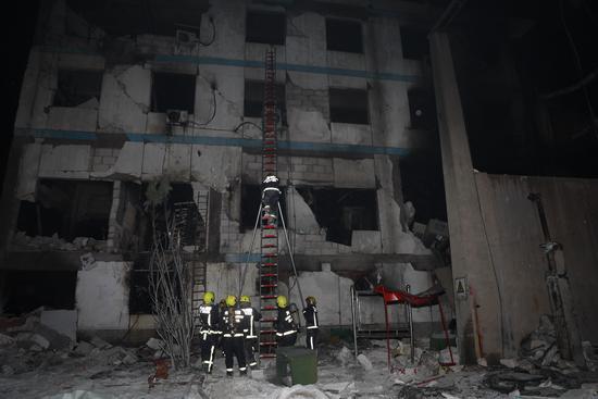 消防救援人员已对义马气化厂爆炸事故完成3轮搜救