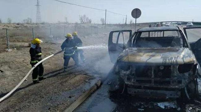 新疆五五工业园区应急救援中心丁新安:忠诚的红门卫士