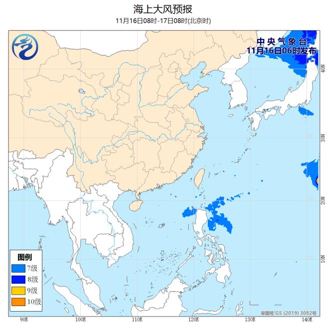 强冷空气即将影响我国大部地区南部海区将有较强东北风