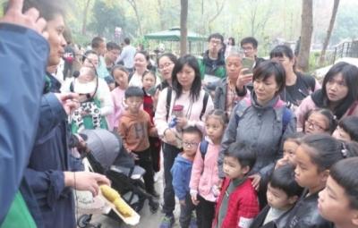 """武汉动物园:""""欢迎游客闻大熊猫粪便"""""""