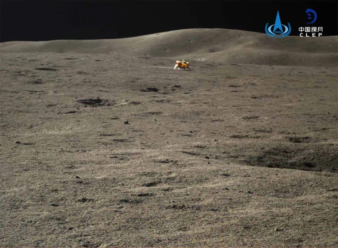 """嫦娥四号和""""玉兔二号""""结束休眠已奋战500天"""