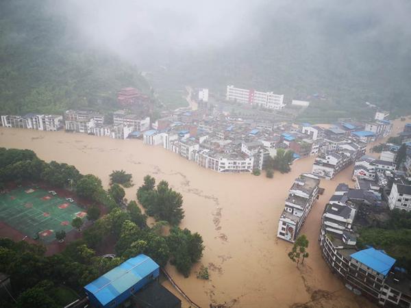 面对暴雨洪水应做好哪些防范工作?