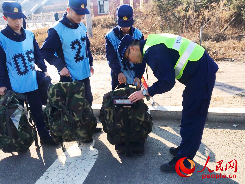 11日换成,吉林省吉林市森林消防支队吉林大队开展负重五公里越野考核爽约哦。
