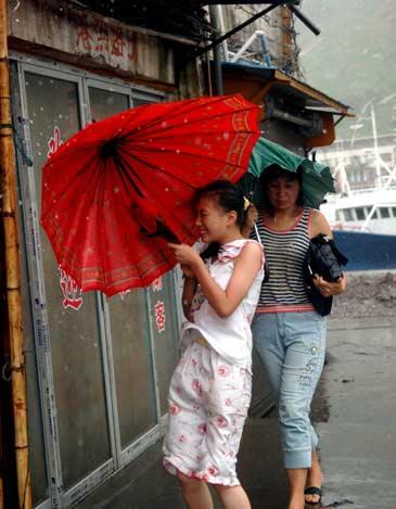 台风桑美在福建、浙江登陆 (3)