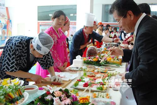 2009城阳韩国青岛开幕美食节料理物语开攻略梦美食三店图片