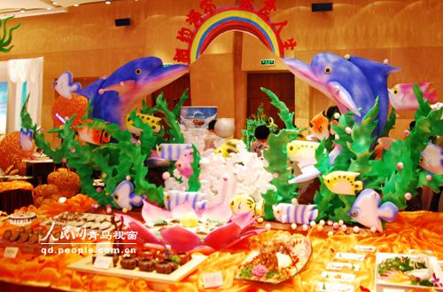 2009青岛国际海洋节海鲜烹饪大赛拉开帷幕 (6)