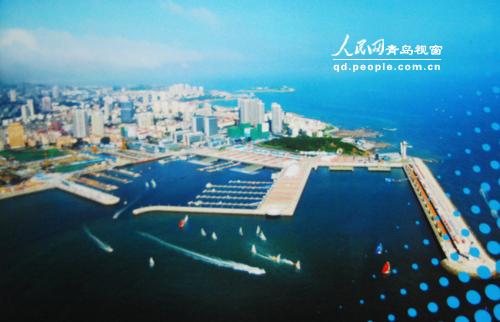 中国青岛国际海洋节实景演出将在奥帆中心大剧场首演