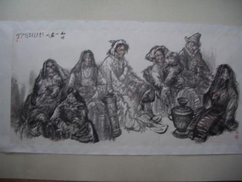 黄沧粟:为少数民族画画的画家