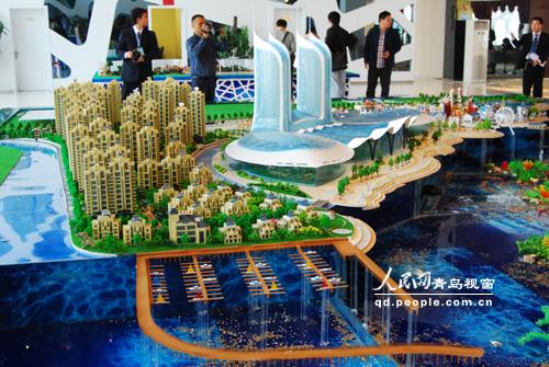 青岛唐岛湾海上嘉年华项目开工建设