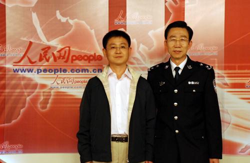 西省公安厅副厅长、太原市公安局局长苏浩做客