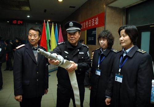 徐州铁路公安处开展消防宣传
