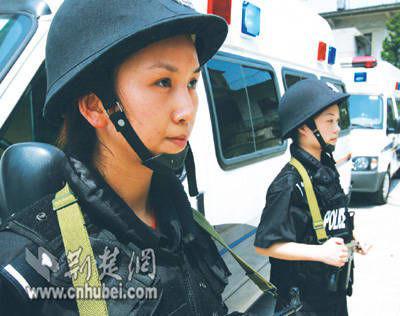 美女狙击手弹无虚发 将赴上海增援世博会安保