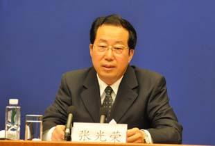 2010年4月26日青海省副省长张光荣介绍玉树抗