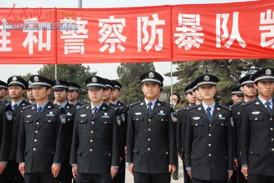 杨艳/公安大学学生代表(人民网记者杨艳摄影报道)