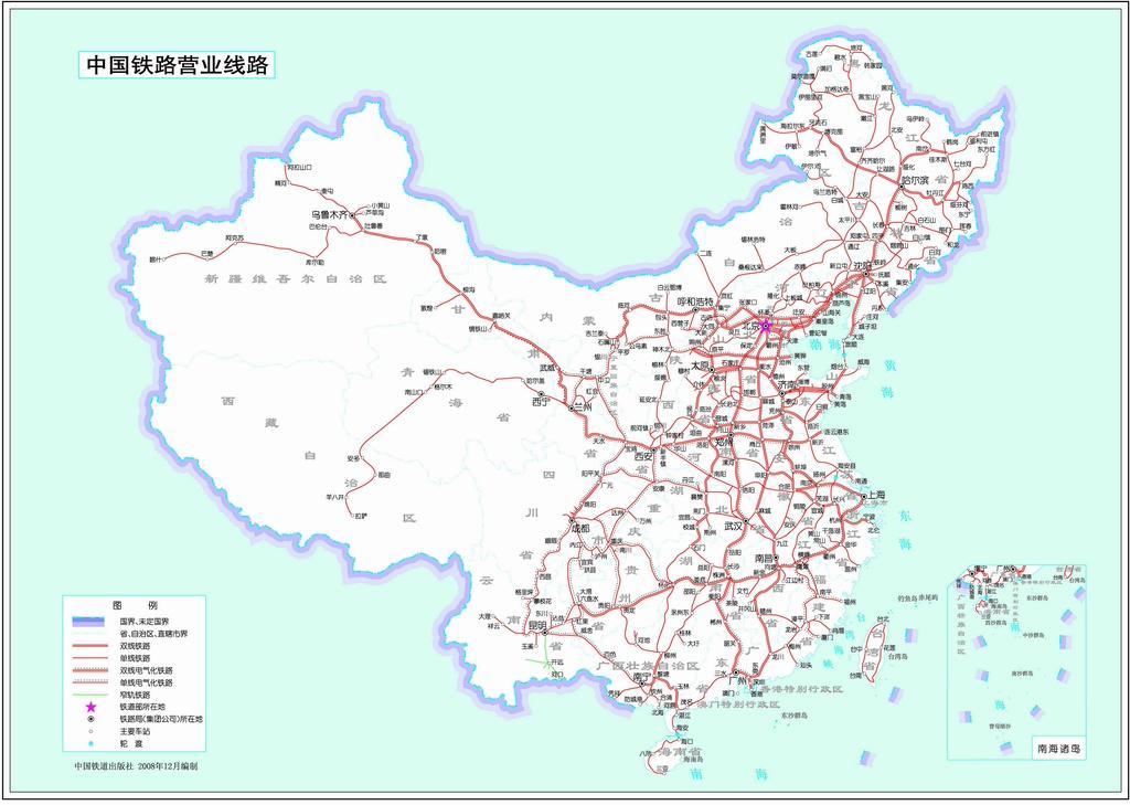 全国高铁铁路线路图 > 图片列表   中国高铁规划图(高清图)_行业观察