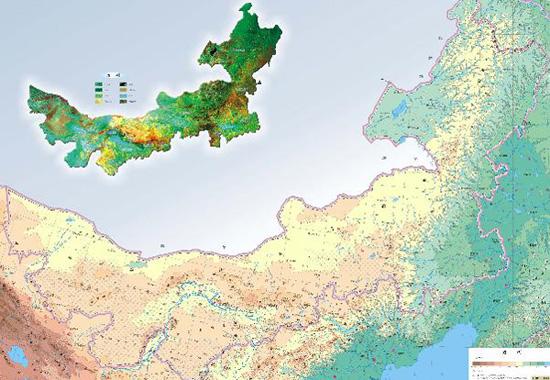 蒙古面积人口-内蒙古自治区概况介绍