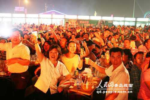 第二十届青岛国际啤酒节闭幕