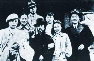 罕见的江青婚礼照片曝光 (2)