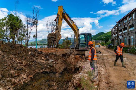 泸沽湖保护治理工作有序开展